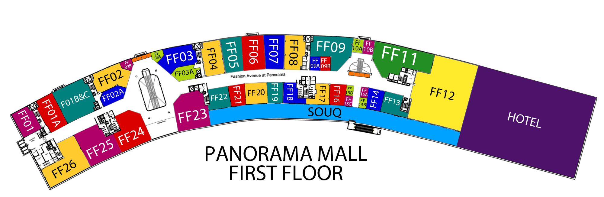 Bank Fashion Shop Locator